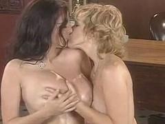busty lesbian