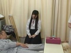 hospital old man