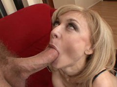 sexy milf Nina Hrtley enjoy cumswallow