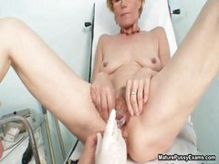 Horny old housewife getting her large part3