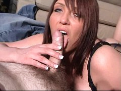 British MILF slut Penelope fucks and sluts