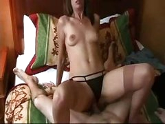 Mom and Son Fuck and Creampie