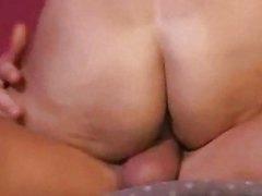 Horny blonde milf rides a hard cock