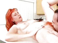 Sasha Brand gets her hairy Anilos pussy fucked