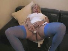 Little blonde British Milf 2