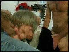 grand mama trys group-sex with several juvenile guys