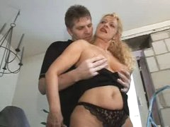 Bea Dumas Mature Milf Hot Ass Anal troia takes hard jock in the ass all the way tits