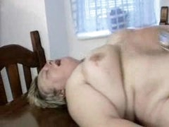 chubby german milf gets drilled