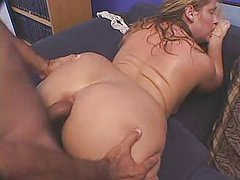 cute chubby lady gangbanged from behind