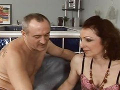 sexy and hairy  mature fuck anal assfuck troia takes hard jock in the ass all the way tits