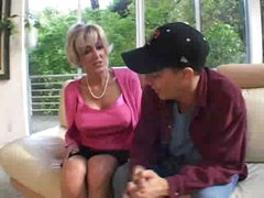 blonde mature and youthful guy part1 by jackass