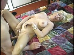 Sexy Aged Blonde Granny Anal