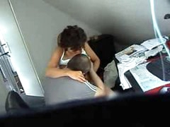 Hidden cam. Mommy and daddy having fun. Great quality video