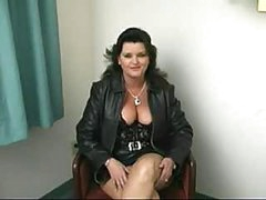 Fat mature woman blowjob