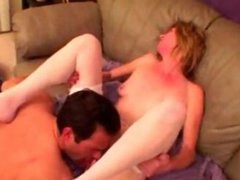 Kinky granny ass fucking and blowjobs