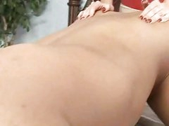 Perverted Milf Brittany Andrews Copulates Her Mans Butt With Her Huge Starp On