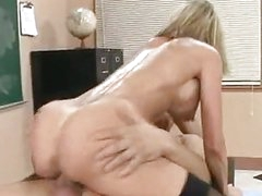 Scorching Brandi Love enjoying her reward on her mouth after a nice fuck