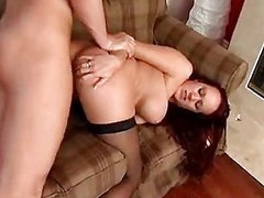 Cum lover Bailey Odare awaits a hot spurt on her face after fucking so good