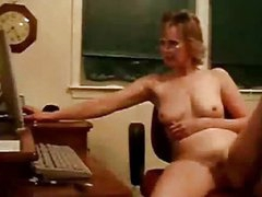German housewife masturbate during a chat