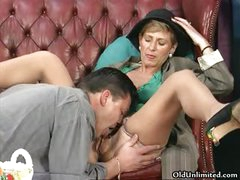 Nasty brunette hair housewife acquires her shaggy part6