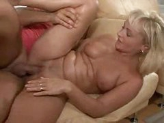 Blonde German Mature Gets Fucked