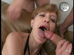 Sweet Cum Facial For Milf