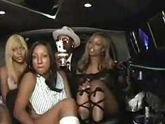 Candace von in a limo