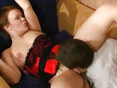 Busty mature chick banged by horny guy