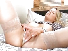 Horny Milf Fingers Her Tight Mature Pussy