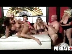 Grannies gang bang big tits mature milf