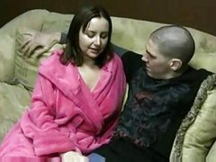 Jerky girl amber moon jerks off hubbys friend