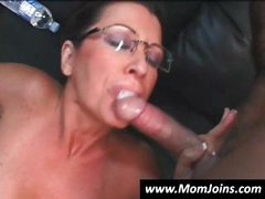 Randy Spears gets it on with a mom with glasses and her young daughter