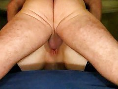 Mature Couple Garter Ass Lick Creampie