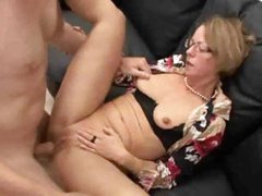Mature Milf Facialed