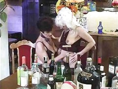 Granny Gets Frisky At Her Party